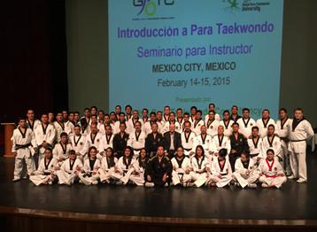 Para-Taekwondo Instructor Seminar
